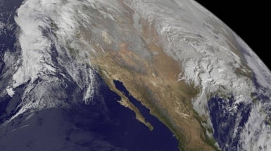 NASA Sees Massive Winter Storm Moving East