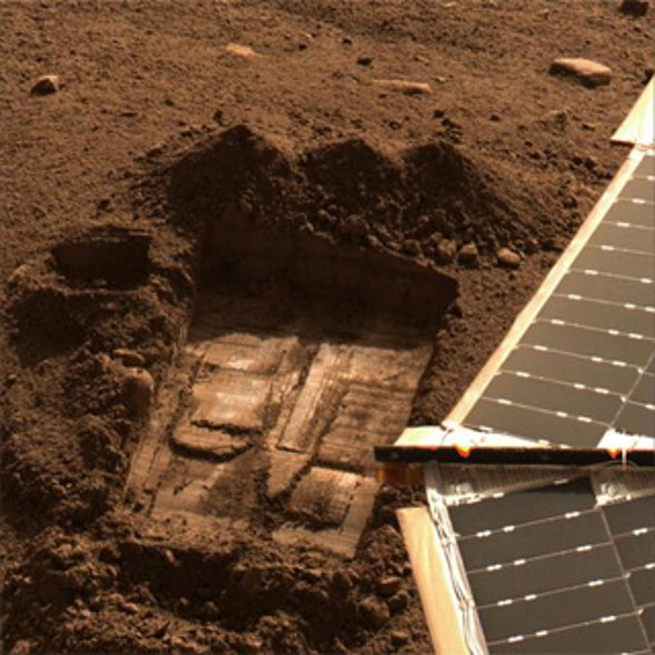 NASA Says Perchlorate Does Not Rule Out Life on Mars
