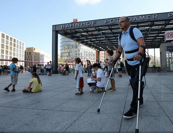 Robotic Exoskeleton Gets First-Ever FDA Approval