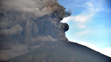 Scientists Look to Bali Volcano for Clues to Curb Climate Change