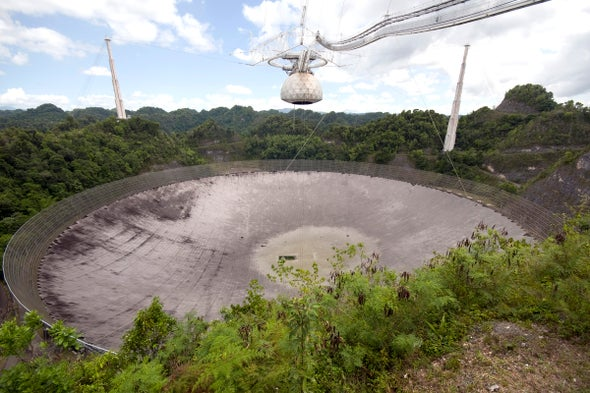 Legendary Arecibo Telescope Will Close Forever, and Scientists Are Reeling