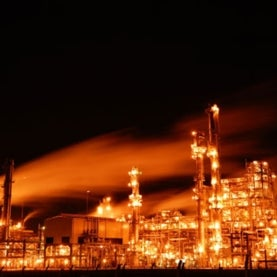 refinery-at-night