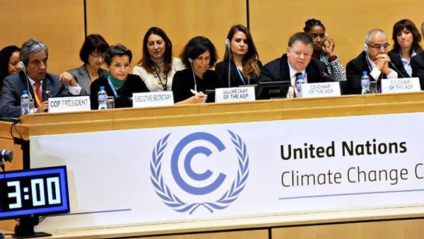 Paris Talks Won't Limit Global Warming to Less Than 2 Degrees Celsius