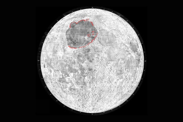 How the Man in the Moon Got His Enormous Right Eye