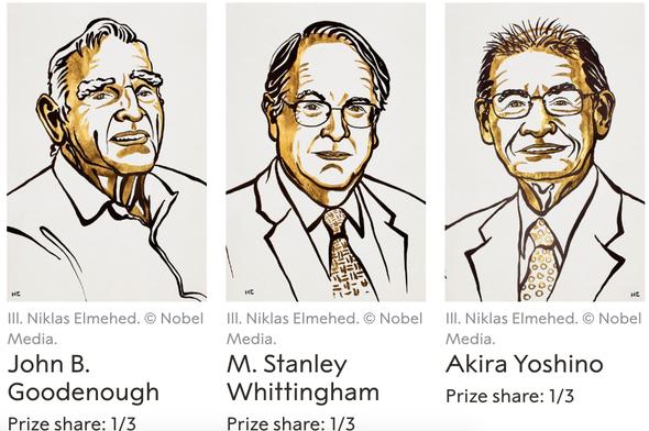 High Energy Award: Lithium Batteries Win 2018 Nobel Prize for Chemistry