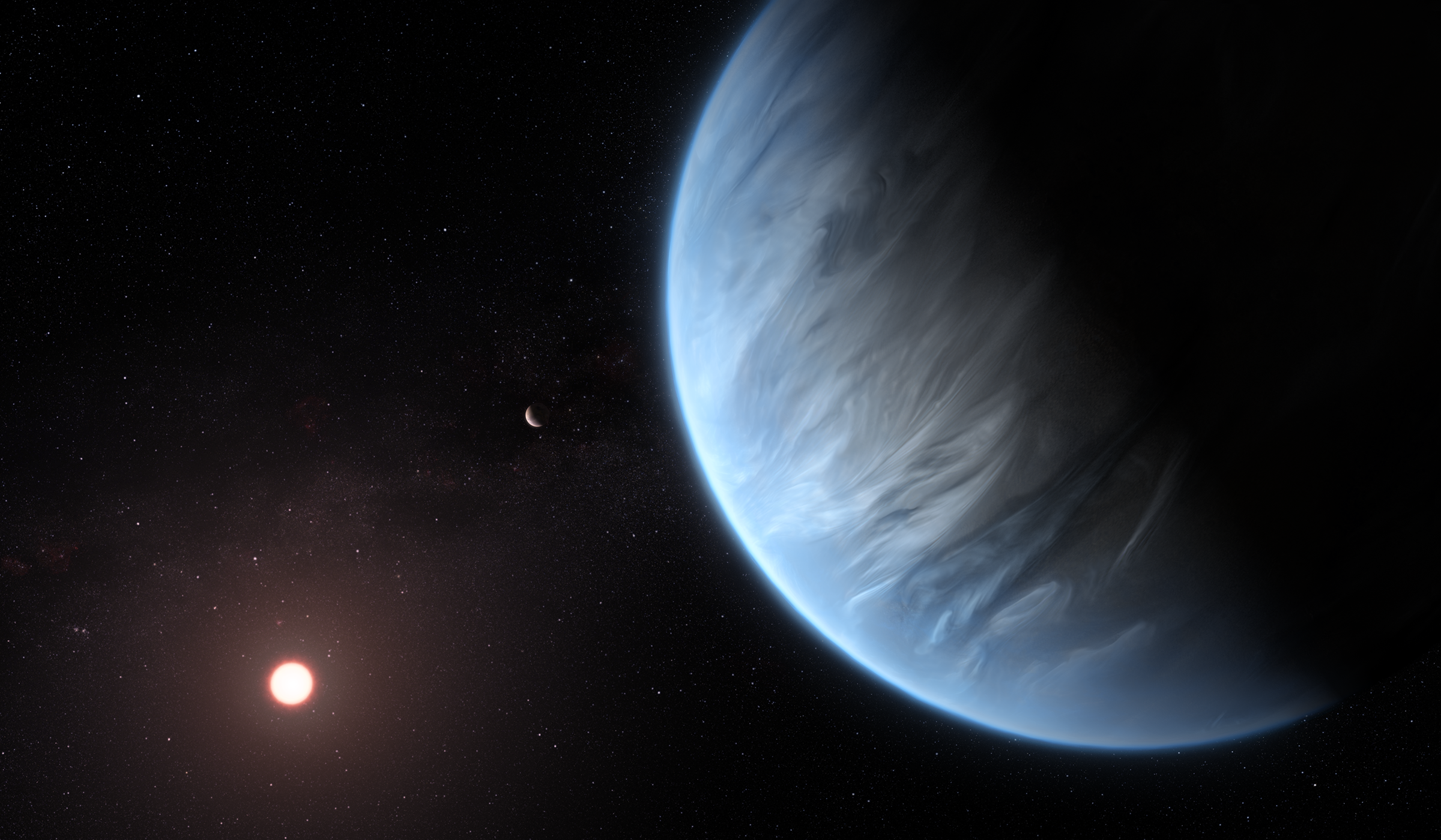 Astronomers Find Water on an Exoplanet Twice the Size of Earth - Scientific American