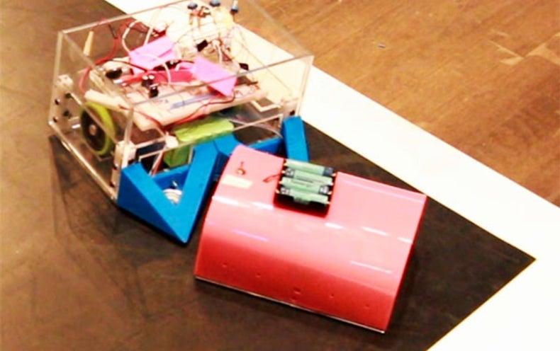 Robot Sumo Tourney Pushes Students' Innovative Skills
