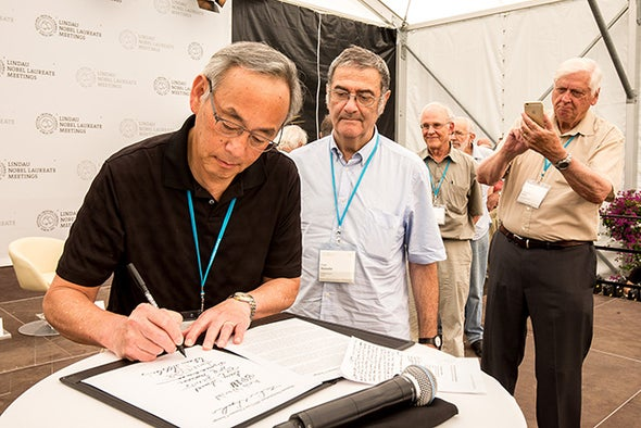 Climate Chatter Dominates Island of Nobels