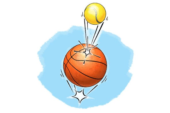 Energetic 2-Ball Bounces
