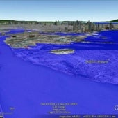 MANILA, THE PHILIPPINES: Under one meter of sea level rise.