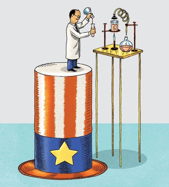 Basic Science Can't Survive without Government Funding