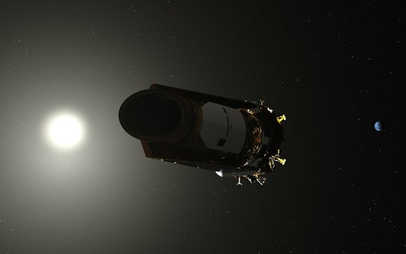 The Kepler telescope wakes up, telephones Home page