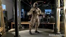 Chemical Warfare Robot PETMAN Struts His Stuff