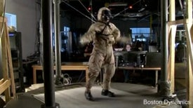 Chemical Warfare Robot PETMAN Struts His Stuff