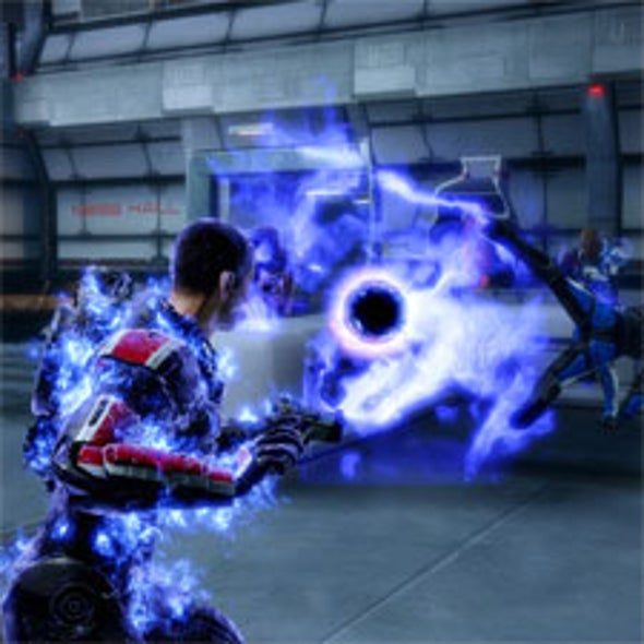 Video Game Expands the Concept of Dark Energy for Mass Effect