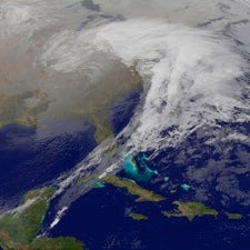 Weather or Not?: Last Winter's Record Snow Driven by Short-Term Meteorologic Patterns, Not Long-Term Climate Change