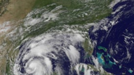 How Will a Hurricane Affect the Oil Spill?