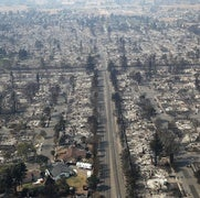 Insurers See Smoldering Risk after California's Worst Wildfire