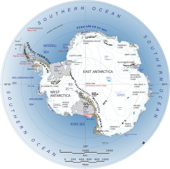 High Heat Measured under Antarctica Could Support Substantial Life