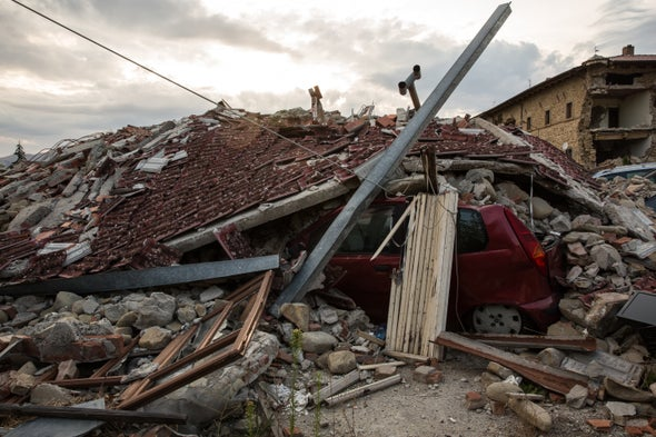 A String of Italian Earthquakes Hints at Forecasts for One Type of Quake
