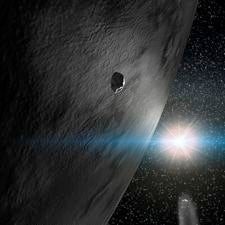 24 Themis, an asteroid with water ice