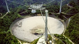 Arecibo Observatory Closed by Hurricane Maria