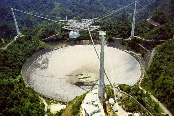 Arecibo Observatory Closed by Hurricane Maria