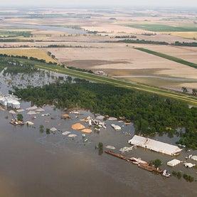 organic farms, mississippi floods,