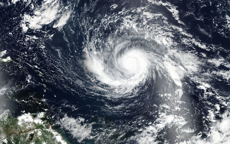 Record-Strength Hurricane Points Toward Florida