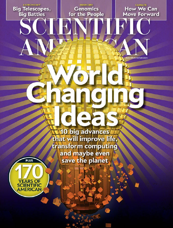 "Readers Respond to ""World Changing Ideas"""