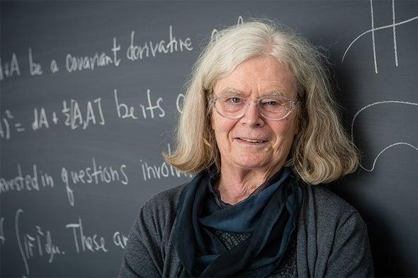 "The ""Fantastic"" Feeling of a Breakthrough: Q&A with Math Prize Winner Karen Uhlenbeck"