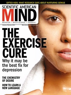 Scientific American Mind Volume 28, Issue 1