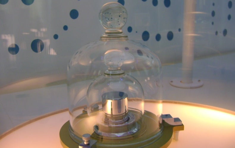The Kilogram May Be Redefined