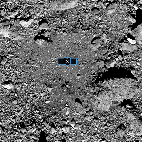 NASA Asteroid Hunter Chooses Landing Site on Boulder-Strewn Space Rock