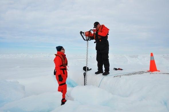 Robot Reveals Surprisingly Thick Antarctic Sea Ice