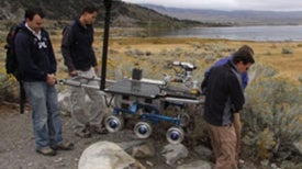 A Wet Run for a Dry Planet: NASA Tests Drilling Technology in the Desert with Mars Sample Return in Mind [Slide Show]