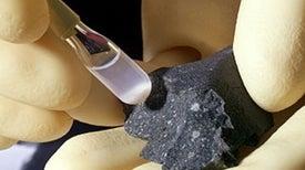 Were Meteorites the Origin of Life on Earth?