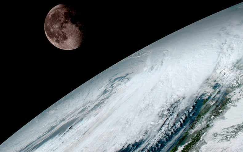 First Spectacular Images Come In from NOAA's New Satellite