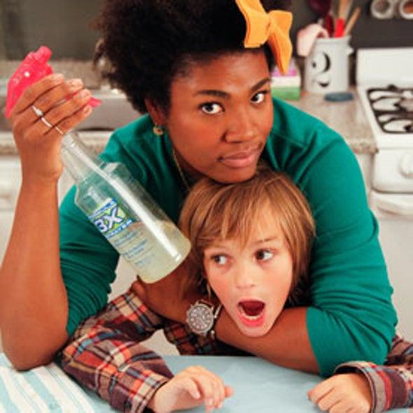 Shiny Science: Make Homemade Nontoxic Glass Cleaner