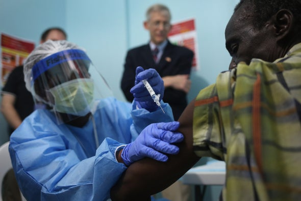Ebola Vaccine Appears to Provide Long-Lasting Protection