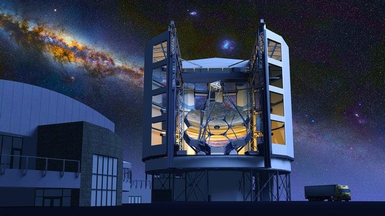 How to Build an 80-Foot-Wide Telescope Mirror to See Deep Space