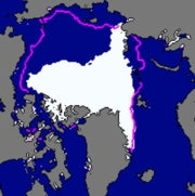 The North Pole Is Melting