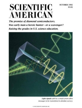 Scientific American Volume 267, Issue 4