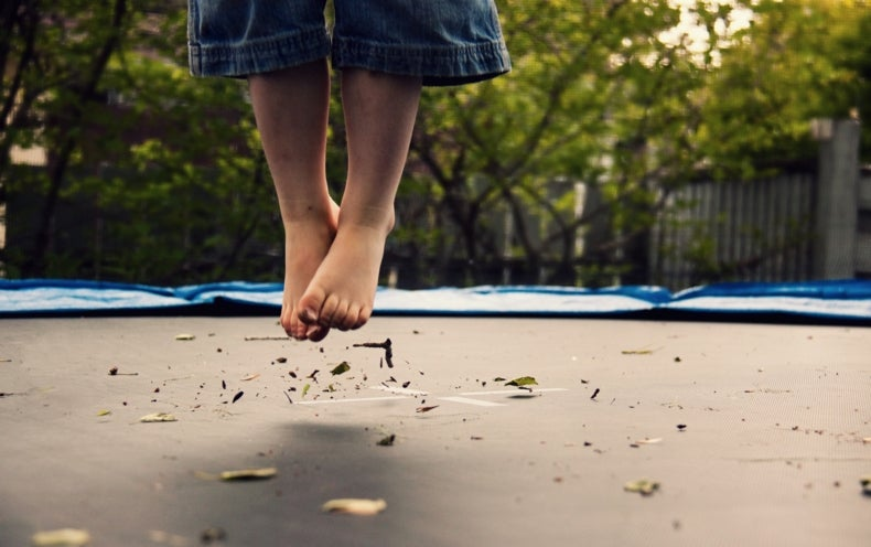 Trampoline Parks Tied to Jump in Emergency Room Visits
