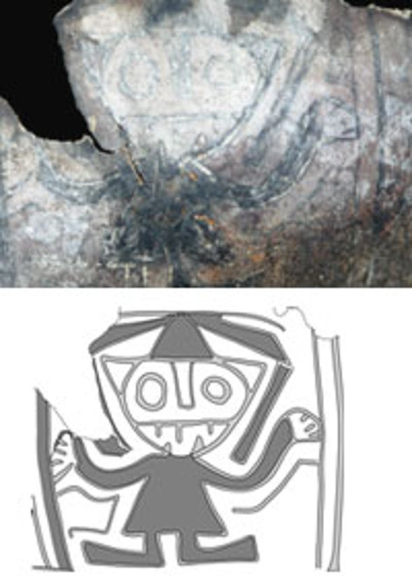 Ancient Deity Drawing May Shed Light on Rise of Andean Religion