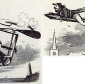 Flying Machines of the Future, 1860