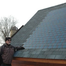 Charming Sun Roof: Solar Panel Shingles Come Down In Price, Gain In Popularity
