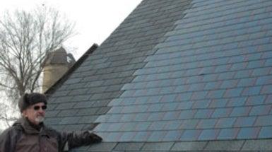 Sun Roof Solar Panel Shingles Come Down In Price Gain In