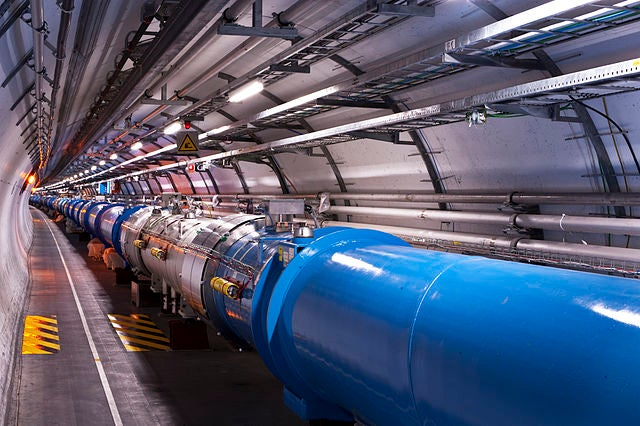 proton smashing resumes at the world u0026 39 s largest particle