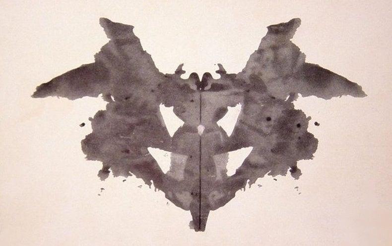 Fractal Secrets of Rorschach's Famed Ink Blots Revealed